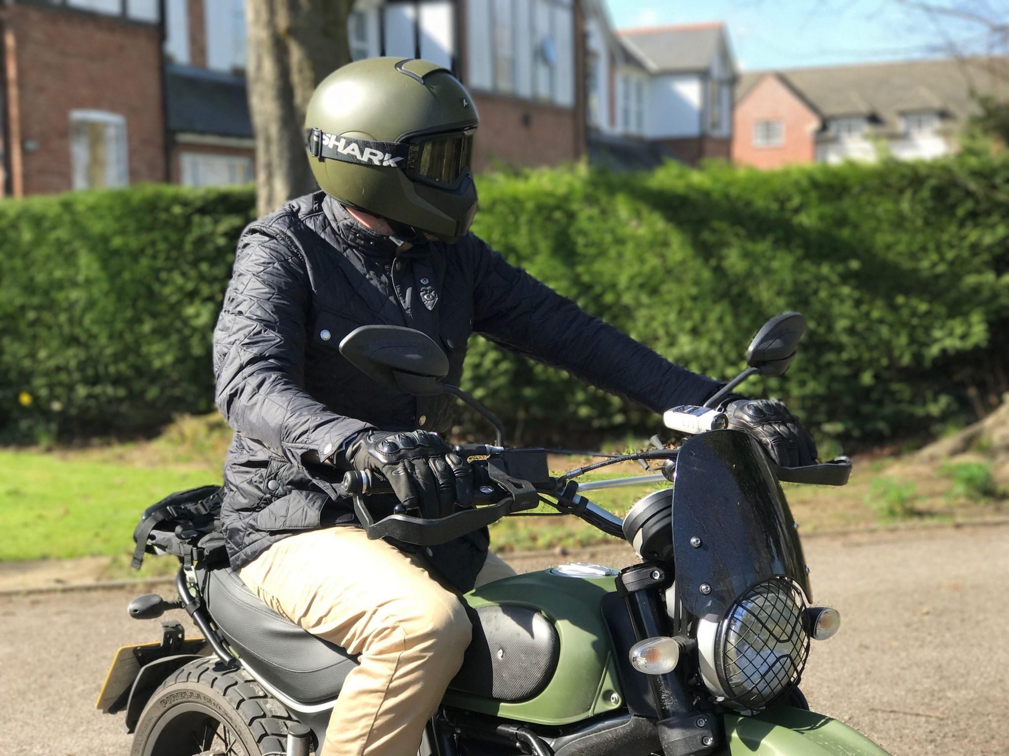 Scrambler Guy Uk Motorcycling Blogger On A Scrambler Ducati Urban