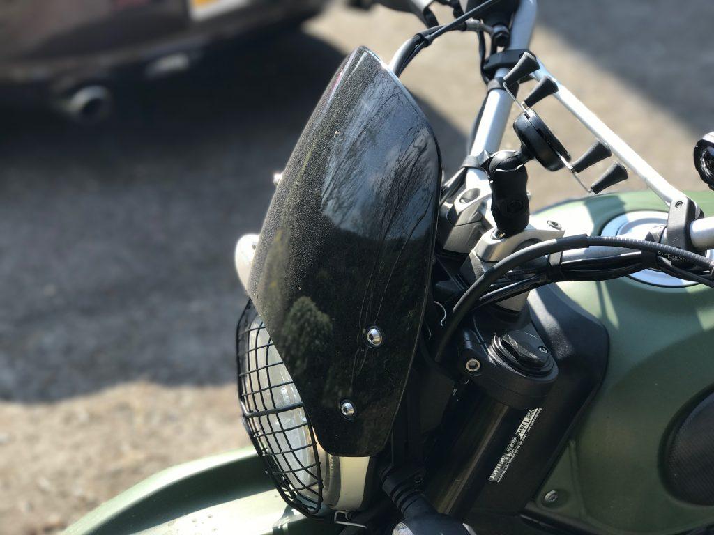 Dart Flyscreen Ducati Scrambler