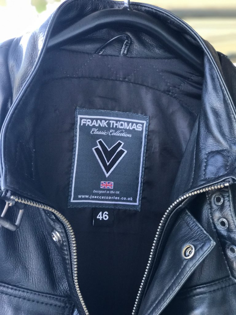Frank Thomas Zeppelin Jacket Black-1